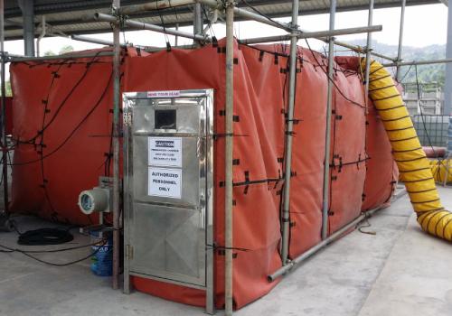 Pressurized Hot Work Isolation